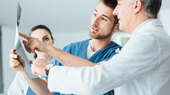 Trainees take part in less than half of radiology studies at