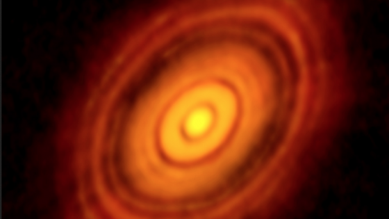 Planet formation at 450 light-years